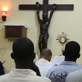 modlitwa, kaplica, seminarium svd